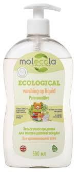 Купить <b>Molecola Средство для</b> мытья детской посуды 0.5 л с ...