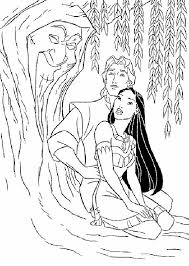 Small Picture 83 best Disney Pocahontas Coloring Pages Disney images on