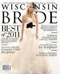 Published Wisconsin Bride Magazine