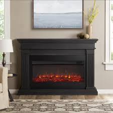 real flame beau 58 inch electric fireplace mantel gray 8080e gry gas log guys