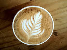 How To Make A Design On Coffee Fern Coffee Design Could Make Out Of Marshmellow Fluff