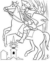 Small Picture Revoltionary War Tea Party Coloring Page School History