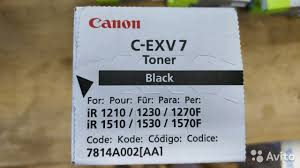 <b>Тонер Canon C</b>-EXV7 купить в Москве на Avito — Объявления на ...