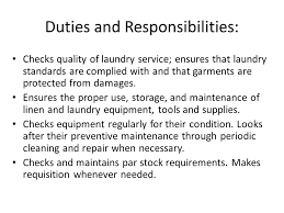 Linen And Laundry Service Ppt Video Online Download