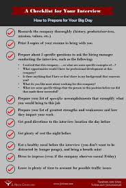 preparing for the interview jl nixon consulting interview job interview checklist