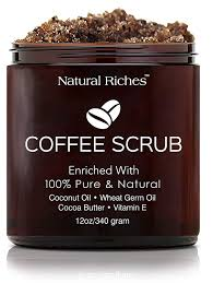 How to use coconut oil for acne scars effectively. Amazon Com Natural Riches Arabica Coffee Body Face Scrub Deep Cleansing Exfoliator All Natural With Coconut Cocoa Butter 12 Oz 340gm Beauty