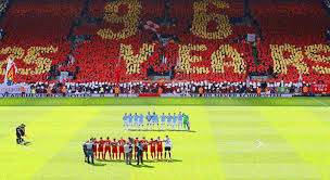 In Commemoration Of The Hillsborough Disaster Where 96
