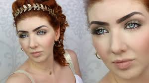 Ancient Roman Hair Style historically accurate makeup tutorial ancient rome youtube 1602 by wearticles.com