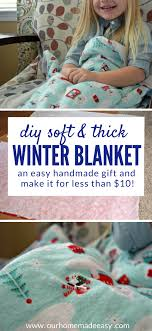 here is an easy step by step how to for making a soft and warm flannel