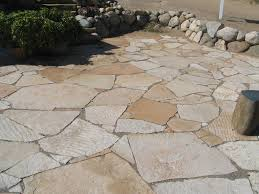 Exterior Design Patio Design Ideas Plus Firepit Flagstone Pavers