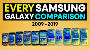 Every Samsung Galaxy S Comparison 2019