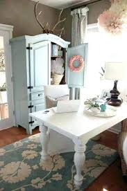 shabby chic office accessories. Chic Desk Accessories Charming Romantic Shabby Living Room Decor Ideas Office N
