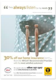 home insurance ad imagery created by rachel spivey