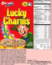 12 Best Photos Of Lucky Charms Information Lucky Charms
