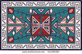 Navajo Pattern Amazing Navajo Pattern Carpet Vector Design Download Free Vector Art