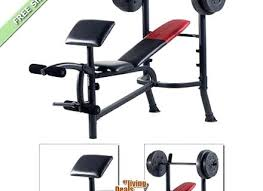 Weider Max Ultra Exercise Chart Weider Exercise Bench Conniealarcon Co