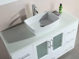 Single Vessel Sink Bathroom Vanity Bathroom Magnificent Home Bathroom Vanities Collections Aruba