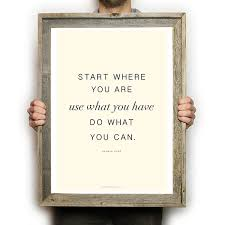 Arthur Ashe Quotes Unique Arthur Ashe Quote Poster Funky Fresh Supply Co