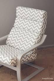 nursery ikea poang chair recover how joyful diy poang chair ottoman covers