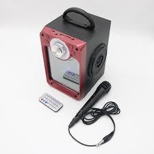 Loa bluetooth karaoke MN03 có đèn sân khấu - tặng kèm micro có dây - Dàn âm  thanh