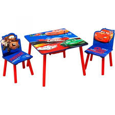 tables and chairs cars storage table and chair set