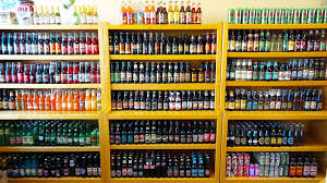 welcome to grandpa joe s candy shop we have the largest glass bottle soda pop selection in western pa