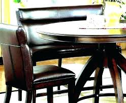 curved bench for round dining table kitchen surprising with seating extraordinary liming d carter attractive
