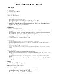 Sample Functional Skills Resume Najmlaemah Com