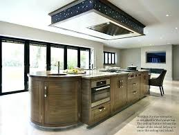 gas cooktop island. Center Island With Stove Range Hood Cooktop Grey Granite Countertop Wooden Cabinet Marble Backsplash Gas B