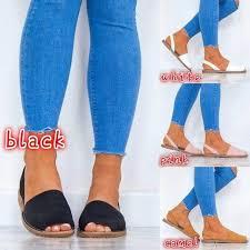 <b>Bailehou</b> Women <b>Summer Sandals</b> Plus Size 35-43 Slip On Sling ...