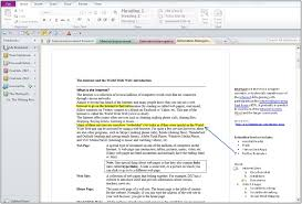 Onenote 2010 Templates Effective Note Taking And Outlining With Onenote