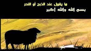 ماذا يقال عند ذبح النذر - المساعده بالعربي , arabhelp
