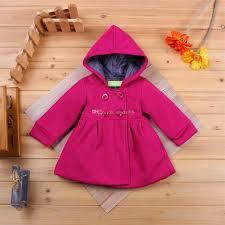 korean style baby girls overcoat coat loose coat girl outwear baby coats jacket baby hoos