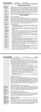 Transform Resume Marketing Executive India Also Sample Resume