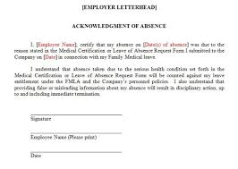 Fmla Form Cool FMLA FAQ Can An Employer Require That An Employee Sign A Form