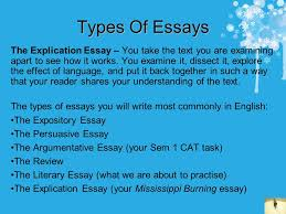 how to write essays some helpful tips contents cut the waffle  types of essays the explication essay you take the text you are examining apart to