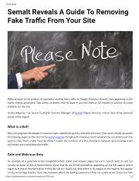 A Reveals Semalt Fake Guide Calam��o To Tra Removing qE45xdw
