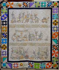 The Mystery of the Salem Quilt Guild  by Meg Hawkey - TheQuiltShow.com &