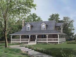 old farmhouse with wrap around porch lovely 1 story farmhouse house plans best home plans wrap