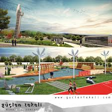 Recreational Space Design Luleburgaz Recreational Areas And Park Design By Guclen
