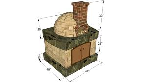 pizza oven free plans howtospecialist how to build step by