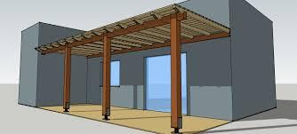 Simple Pergola simple timber pergola plete solution details for veranda patio 3654 by xevi.us