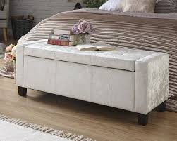 ottoman storage box. Simple Box Verona Crushed Velvet Ottoman Storage Box U2013 Available In 2 Colours Throughout T