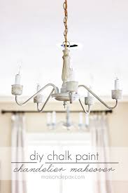 pin it image transform an outdated brass chandelier with chalk paint maisondepax com