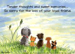 sympathy card pet the writers dog sympathy cards for pets