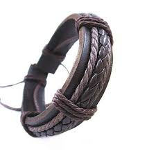 diy knit pu leather bracelet watch band sku2203531