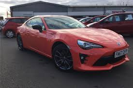Used 2017 TOYOTA GT86 2.0 D-4S Orange Edition 2dr Auto for sale in ...