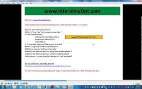 Core Java Interview Questions And Answers For Experienced