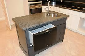 Incomparable Kitchen Island Sink Ideas With Undercounter Dishwasher Also  Double Handle Kitchen Faucet With Soap Dispenser