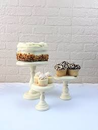 Cheesecake Display Stands Amazon Set Of 100 Ivory Round Wood Cupcake Stands Display Riser 25
